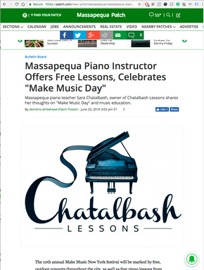 massapequa patch news article massapequa piano instructor make music day
