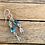 "Thumbnail: Blue Apatite and Sterling Silver Earrings - ""Breeze"""