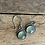 "Thumbnail: Prehnite and Sterling Earrings ~ ""Fresh"""