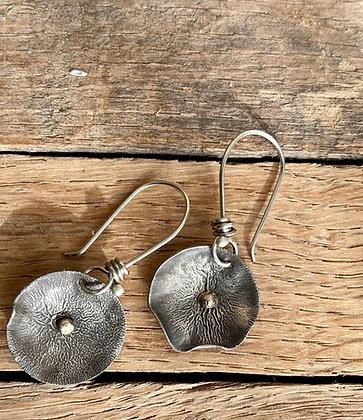 """Sterling & Gold Earrings ~ """"Blended"""""""