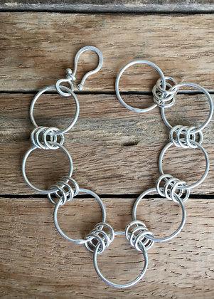 """Sterling Silver Bracelet - """"Shiny"""""""