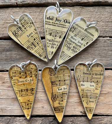 Hymnal Necklace Collection #5