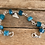 Thumbnail: Apatite and Sterling Classic Stone Bracelet