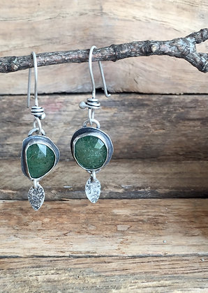 """Sapphire & Silver """"Ear Candy"""" Earrings"""