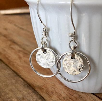 """Sterling Silver Earrings - """"Kinetics"""""""