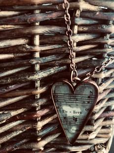 """Believe"" Necklace"