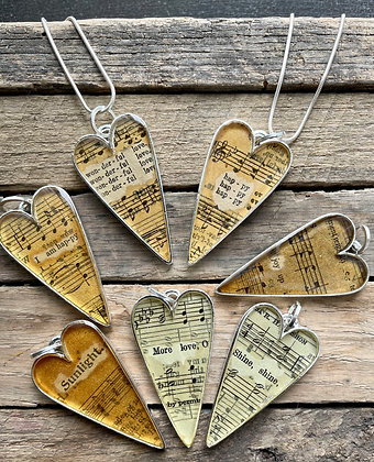 Hymnal Necklace Collection #3