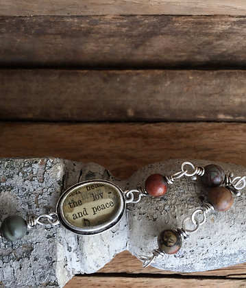 """And Peace"" Bracelet"