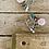 "Thumbnail: Boho Bits ""Pink Flower"" Earrings"