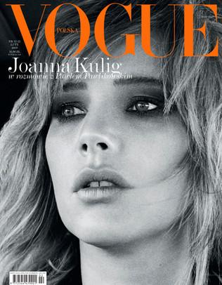 Joanna Kulig by Max Vadukul for Vogue Poland