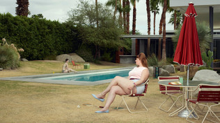 Palm Springs At the Pool  by Erwin Olaf