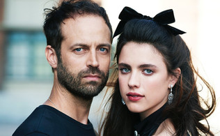 Benjamin Millepied and Margaret Qualley by Max Vadukul for Town and Country