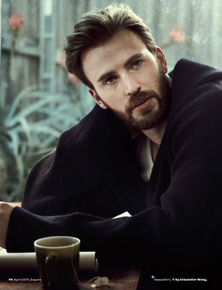 Chris Evans by Mark Segal for Esquire