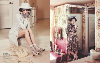 Elena Rendina for Numero Tokyo