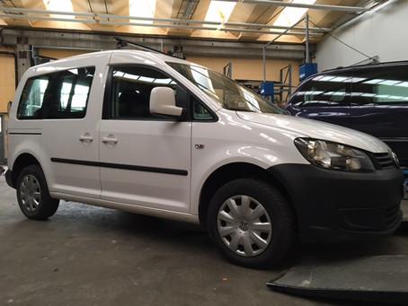 VW Caddy Seikel Fahrwerk