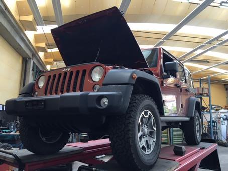 Fahrwerkumbau Jeep Wrangler