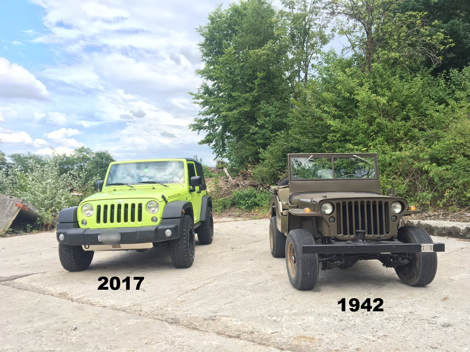 Alter, Jeep, Wrangler Willys