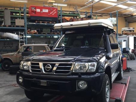 Nissan Patrol mit Blinker Problem