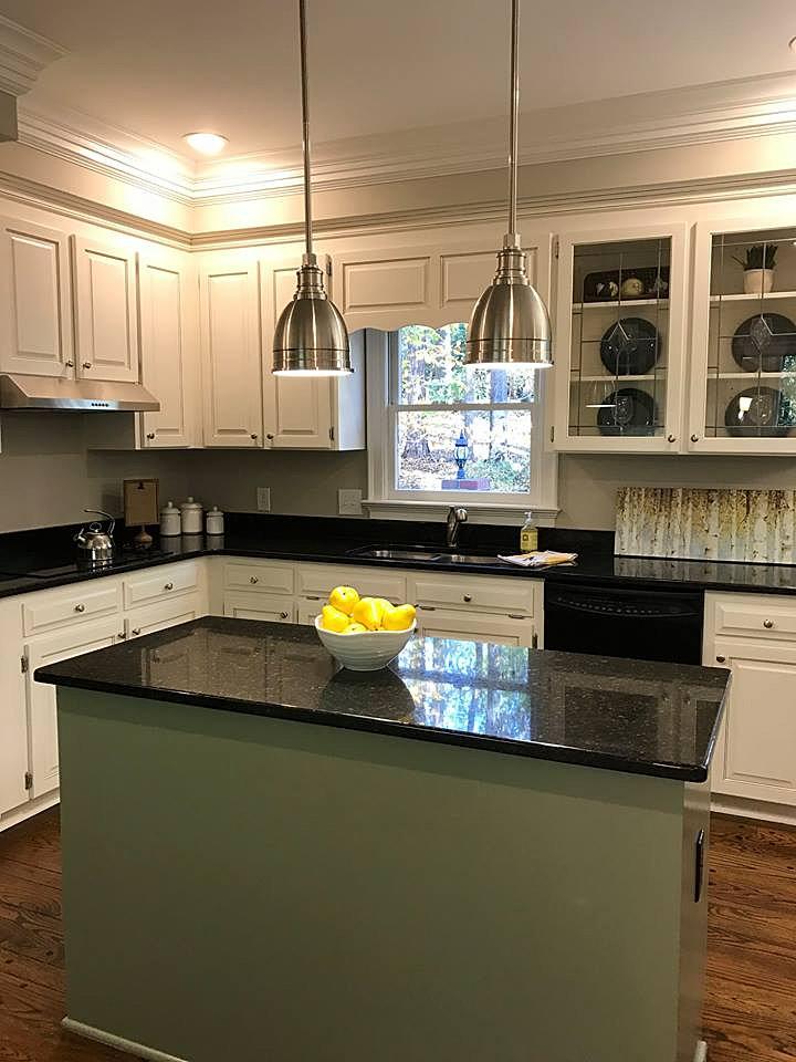New Paint Light Fixtures New Kitchen