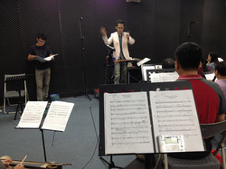 Rehearse with Ji-in Symphonic Band