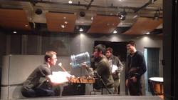 Sound Sample Recording Session