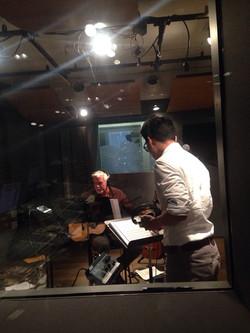 Hybrid Recording Session