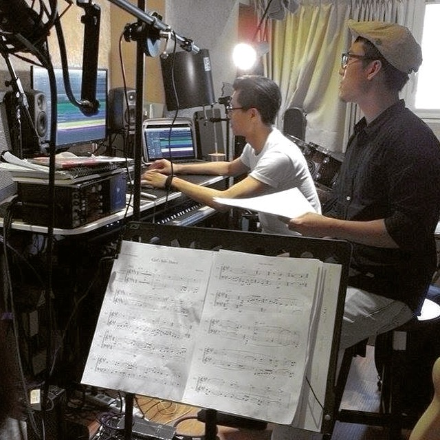 "Recording for ""Tree of Life"""