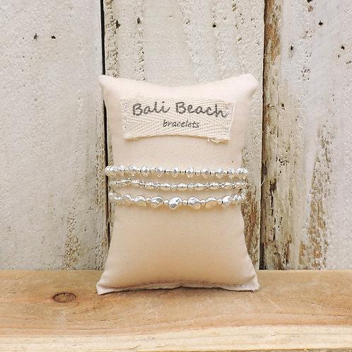 Silver seeds bracelet
