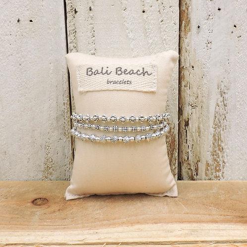 Arabesque silver bracelet