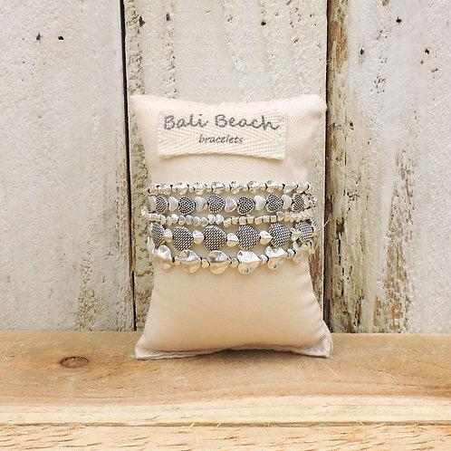 Big love silver bracelet