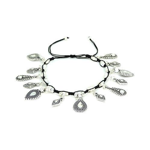 Etnic charms bracelet