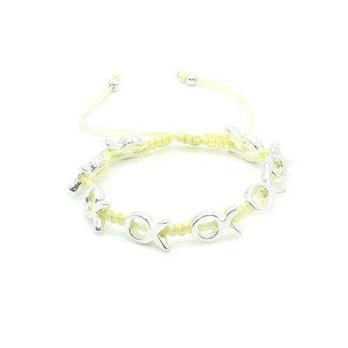 Funny fish bracelet