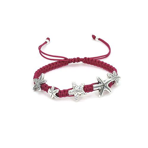 Galaxy sea star bracelet