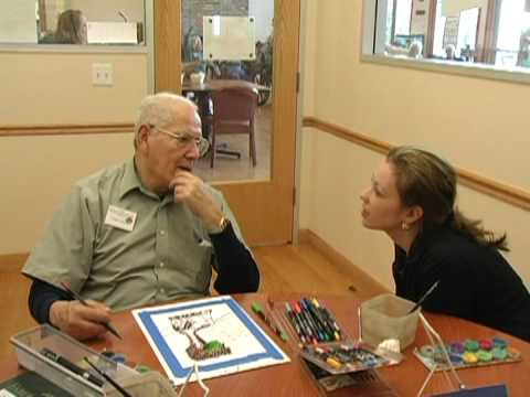 Dementia Patients Reclaim Their Identity Through Art Therapy
