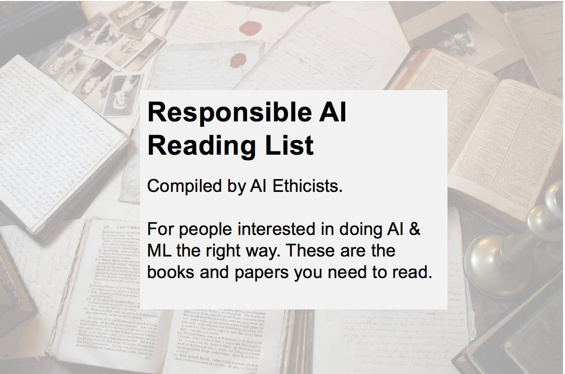 AI Ethics Reading List