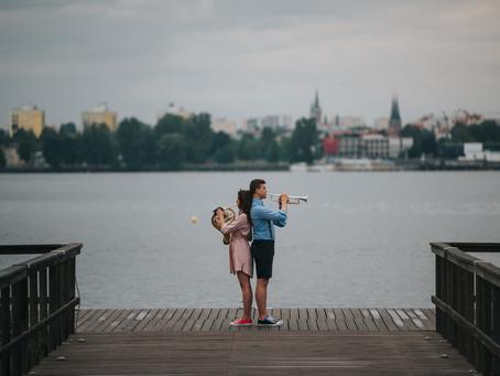 Kapryśne Lato - Sesja Narzeczeńska Julii i Andrzeja