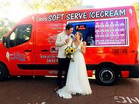 ice cream van hire wedding events