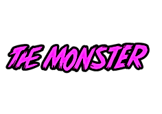 Surfboard Alka model the monster logo