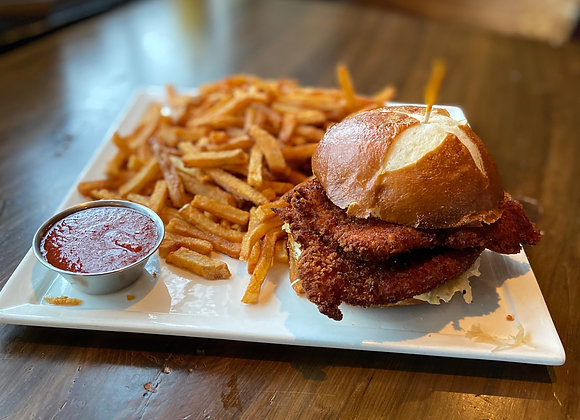 Pork Katsu Sandwich