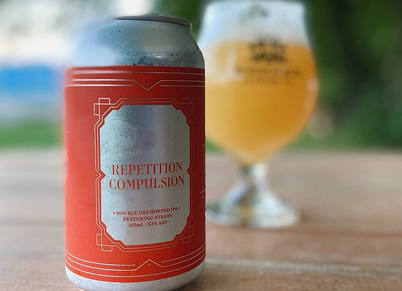 355ml Repetition Compulsion - Double Dry-Hopped IPA ft. Strata (5.5% ABV)