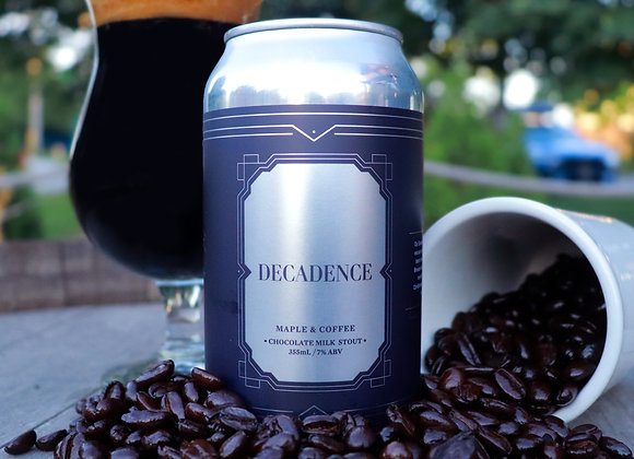 355ml Decadence - (Maple Coffee) Chocolate Milk Stout (7% ABV)