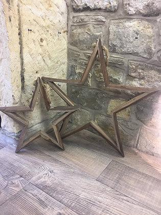 Set Of 2 Hanging Stars