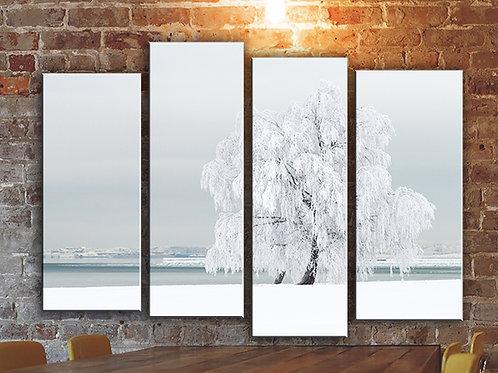 Winter wonderland Wall Art Decor Picture Painting Print Nature Art