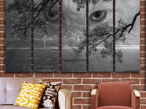 Cat Wall Art Decor Picture Painting Print Creative Art