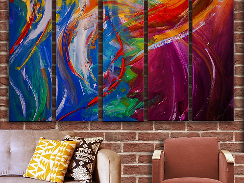 Abstraction Wall Art Decor Picture Painting Print Creative Art