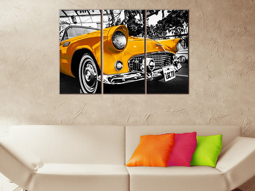 Big Ford Thunderbird 1955 Wall Art Decor Picture Painting Print 22 by 33 in