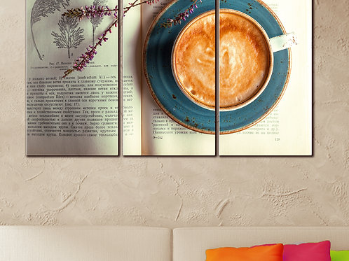Coffee and Crema Wall Art Decor Picture Painting Print 22 by 33 in