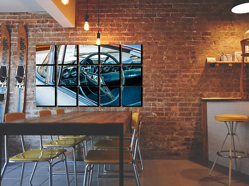 Classic American Muscle Car Wall Art Decor Picture Painting Print 15p, 30x50