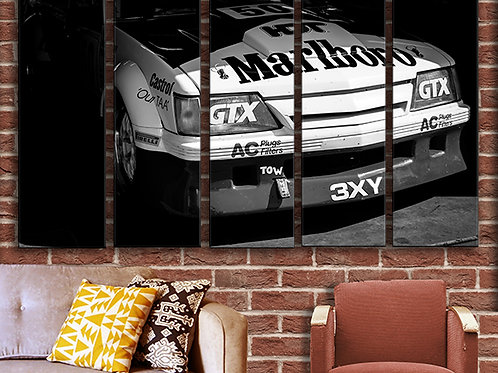 Racing Car Wall Art Decor Picture Painting Print Vintage Car Art