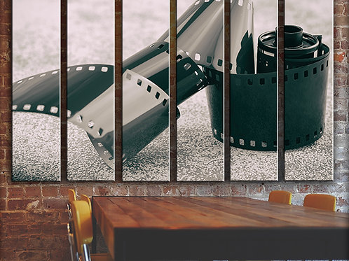 Roll of Vintage Film Wall Art Decor Picture Painting Print Creative Artist Art
